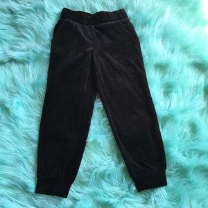 🆕🎀Toddler Girl Velour Pants NEW TCP 4T NWOT